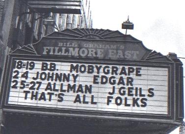 The Night They Closed the Fillmore Down – Duane Allman